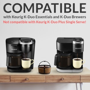 GoodCups Reusable Keurig K-Duo Coffee Filter for K-Duo Essentials and K-Duo Brewers