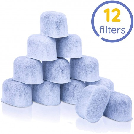 GoodCups 12 Pack Charcoal Water Filters for Keurig K-Duo, K-Classic, K-Elite, K-Select, K-Cafe, K-Compact, 2.0 and 1.0 Brewers